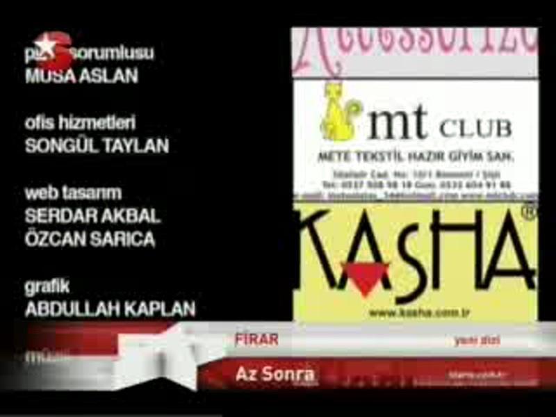 Firar Dizisi Resmi Web Sitesi - Star-2011